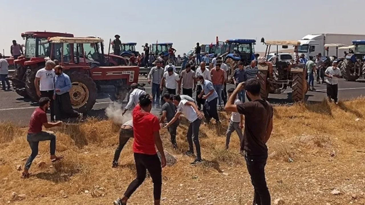 18 farmers detained for shouting slogan of 'AKP resign'