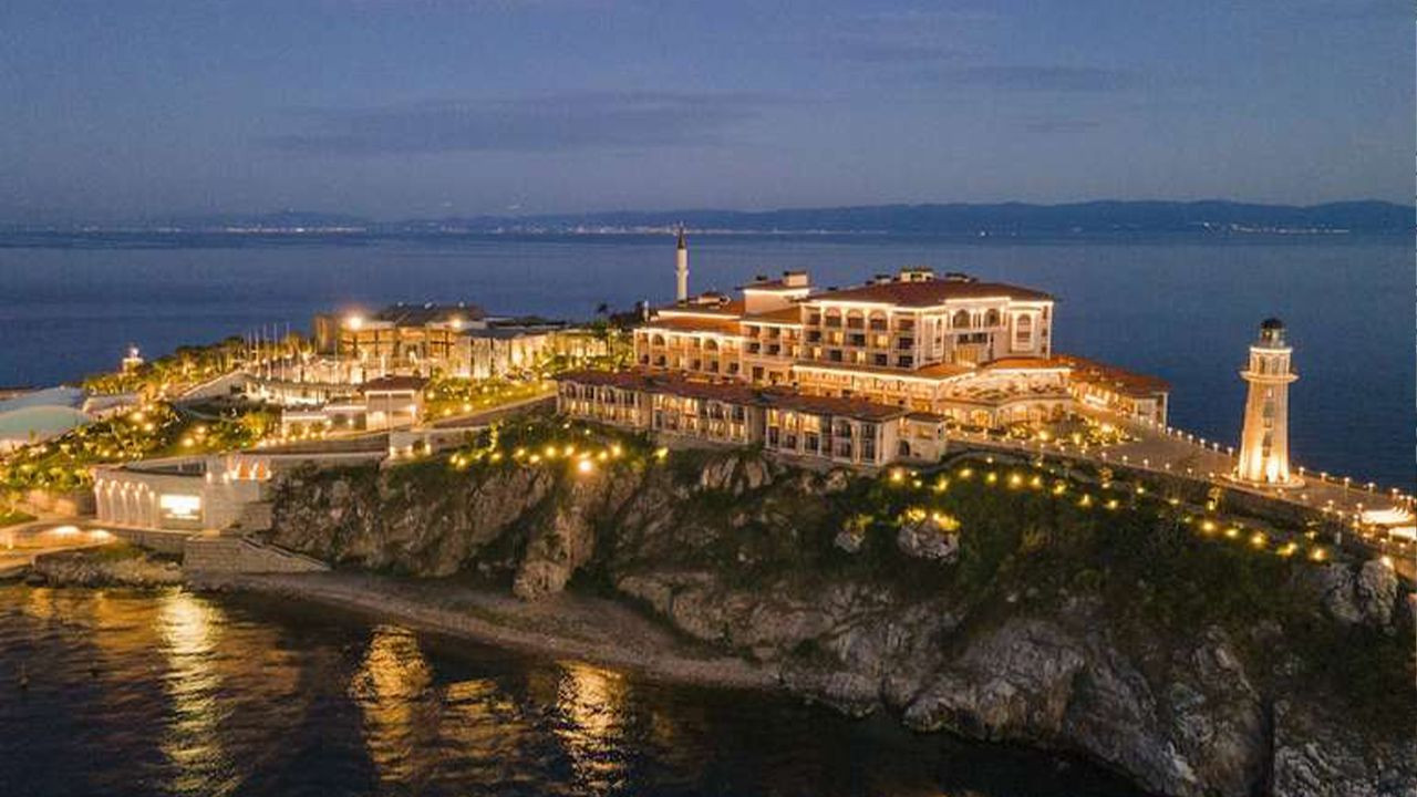 Luxury hotel opens on site where executed former Turkish PM was jailed - Page 1