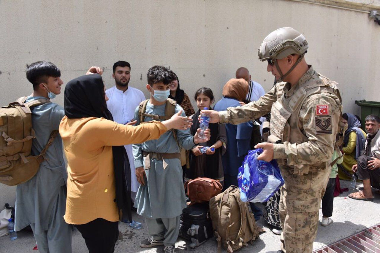 Turkish citizens evacuated from Afghanistan recall chaos - Page 4