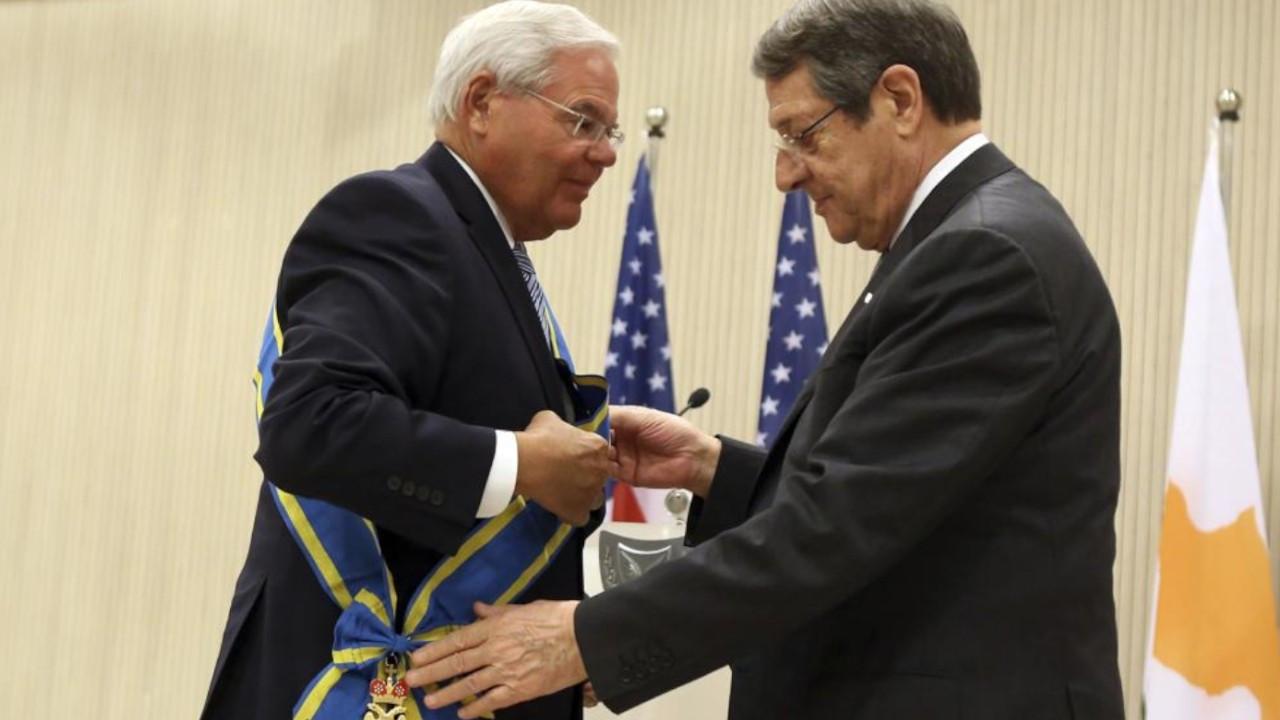 US senator says his goal is to 'see last Turkish soldier leave Cyprus'