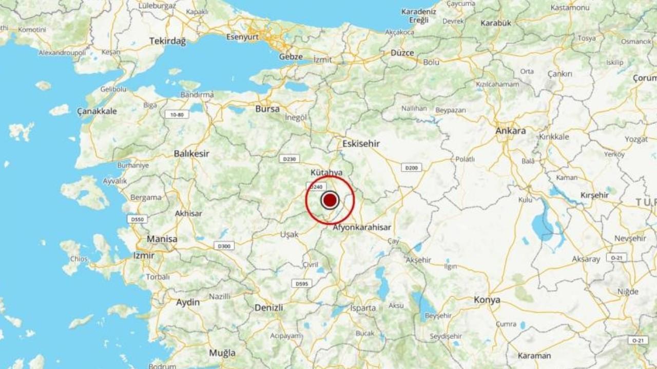Magnitude 5.0 earthquake strikes Aegean Kütahya