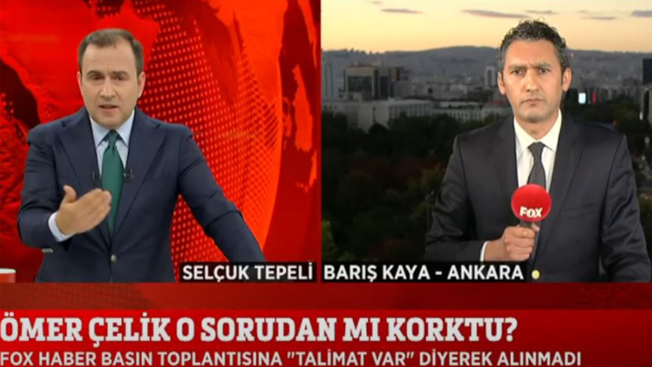 Fox TV reporter excluded from AKP spokesman's press conference