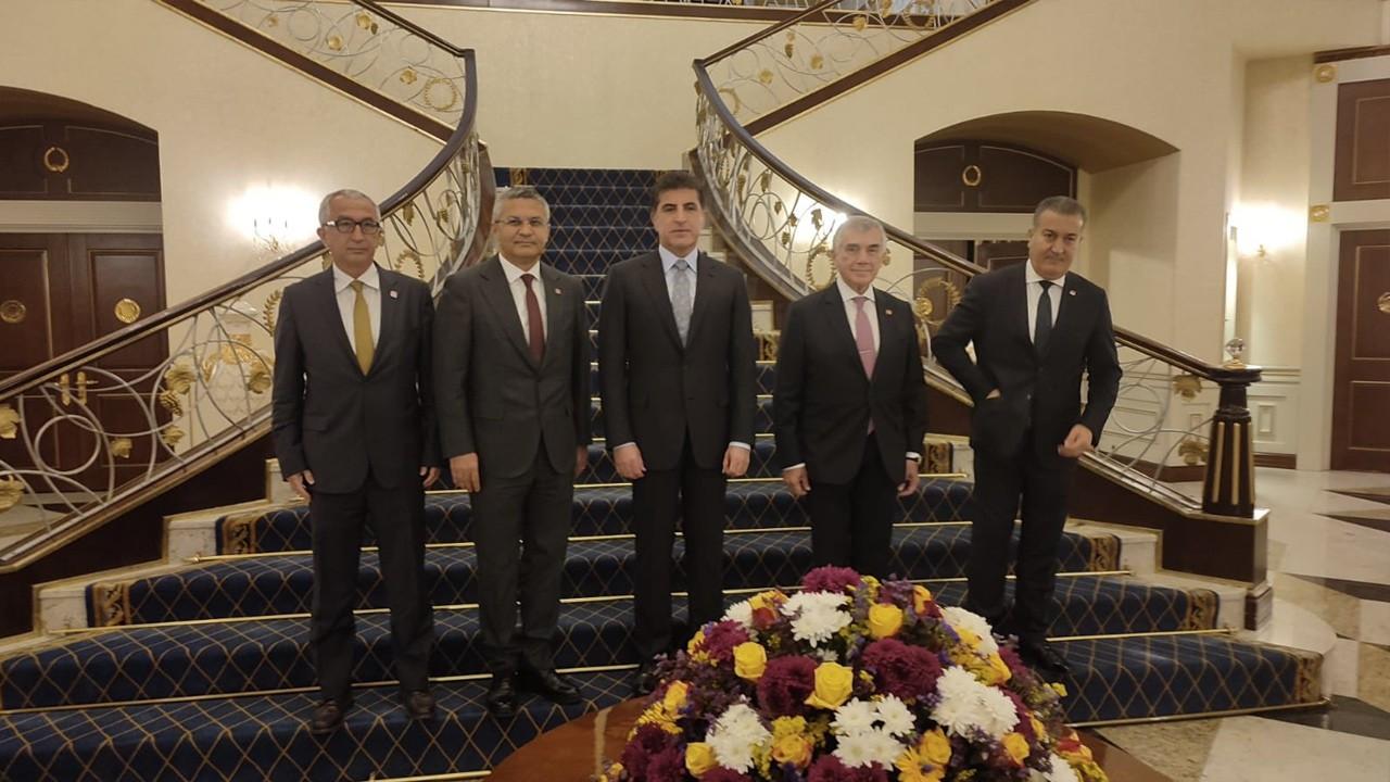 Turkish main opposition CHP delegation visits Erbil, meets with Iraqi Kurdish President Barzani
