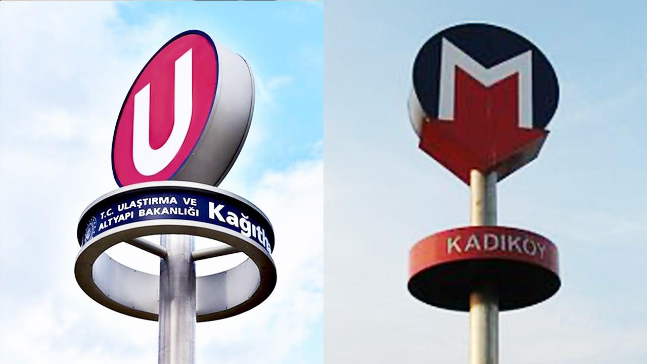 Metro logo prompts quarrel between Transportation Ministry, Istanbul Municipality