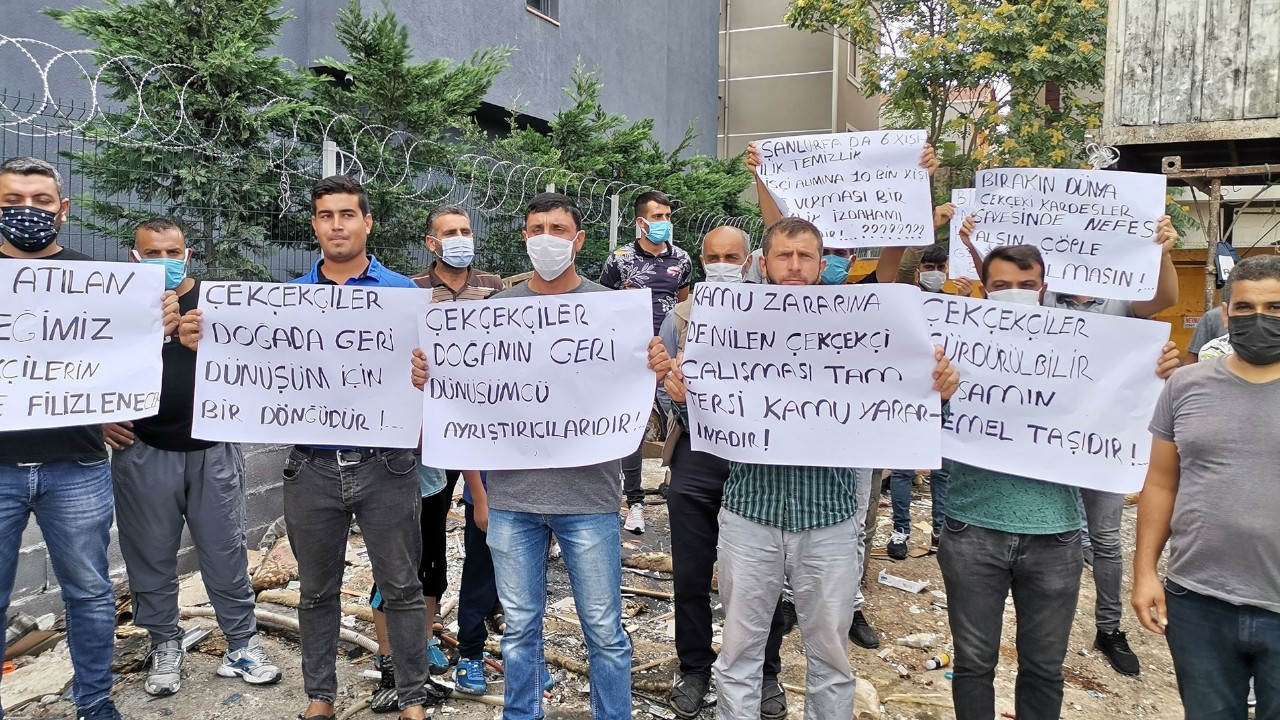 Istanbul waste collectors protest seizure of carts, warehouse raids