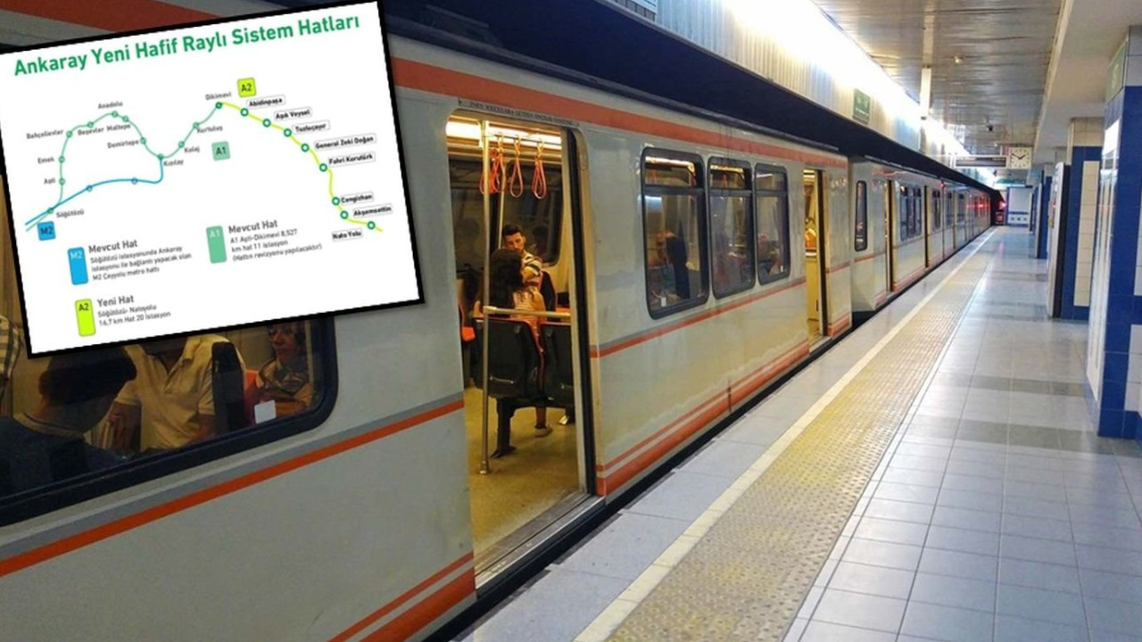 New Ankara metro line to be funded by EBRD