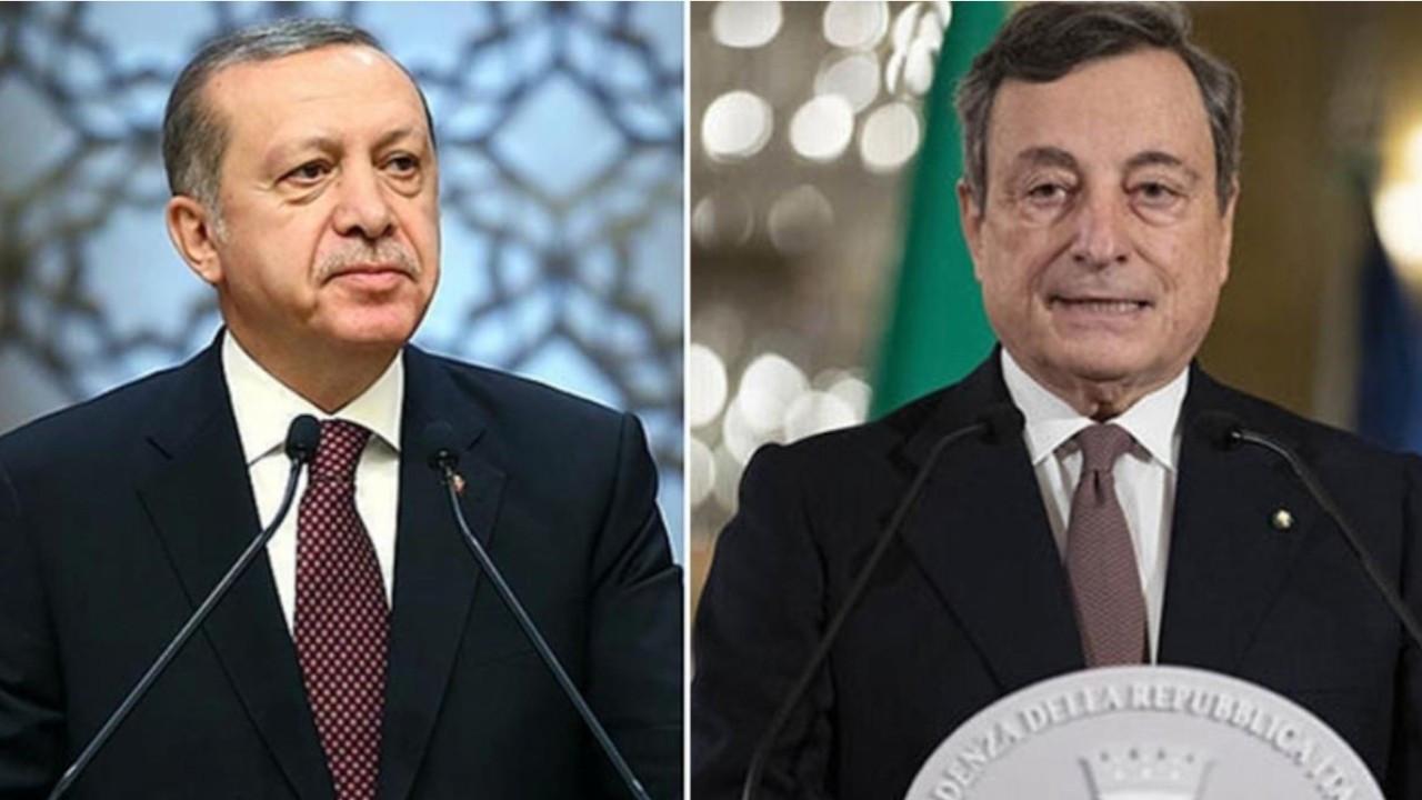 Erdoğan, Italian PM Draghi hold first call since 'dictator' row