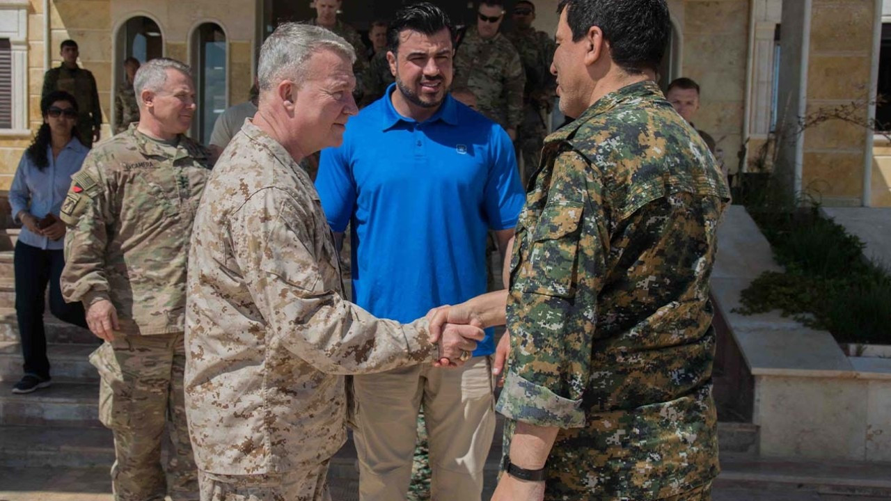 US commander meets with SDF leader Kobani, vows continued support