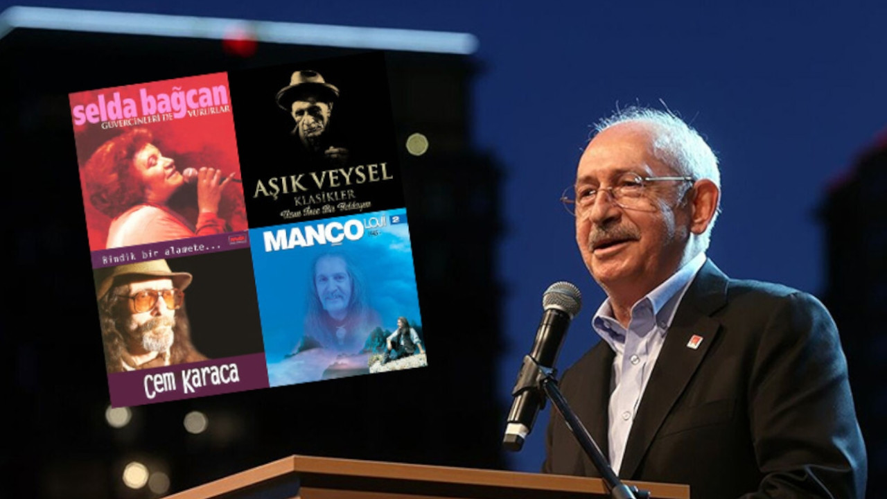 Turkish opposition leader shares his top songs with Spotify playlist