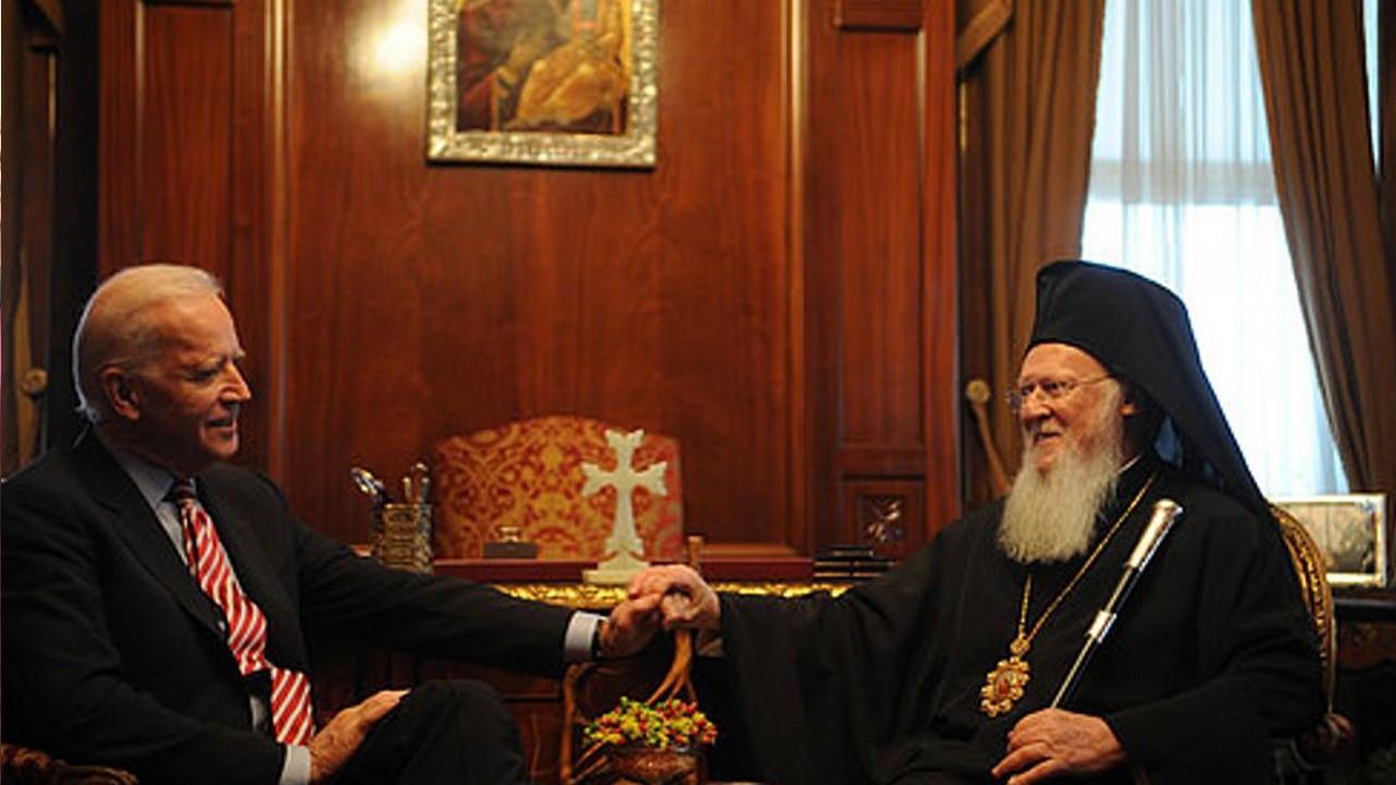 Patriarch Bartholomew set to meet Biden at White House