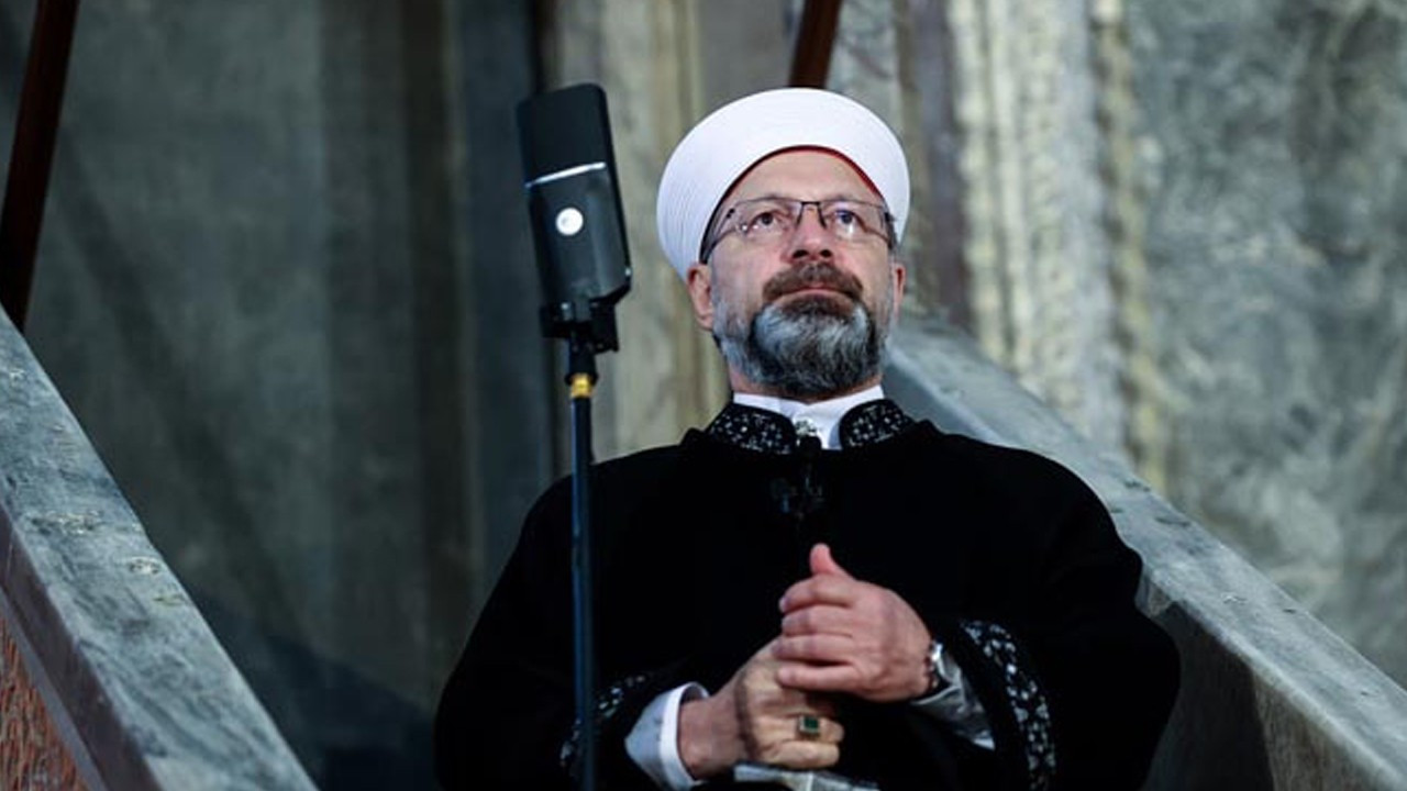Controversial Diyanet head re-assigned to his post for another 5 years