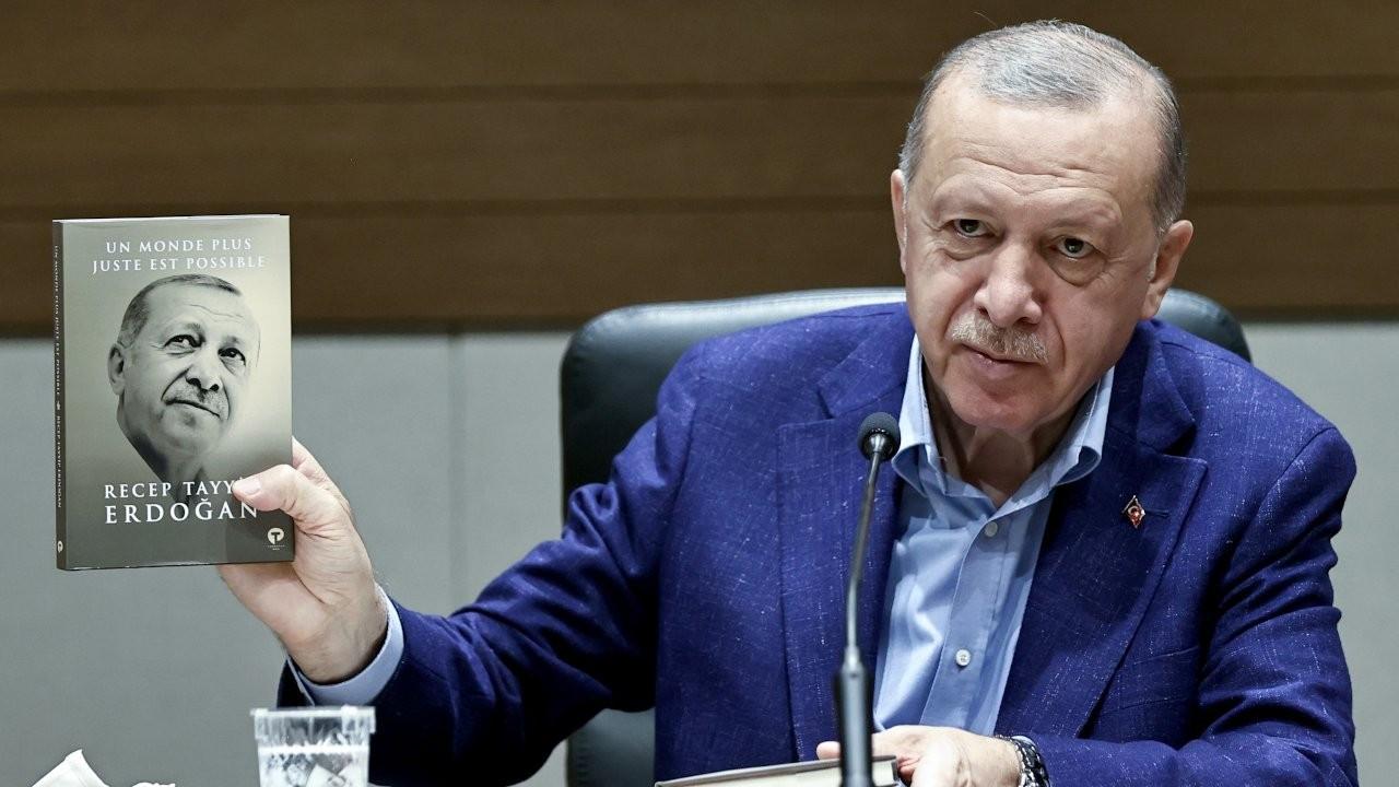 Erdoğan deems book translation English, despite it being French