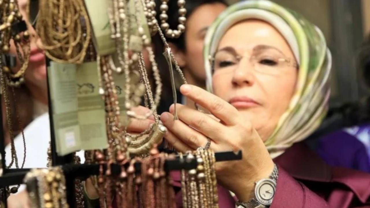 First Lady Erdoğan draws ire with over $35k worth watch