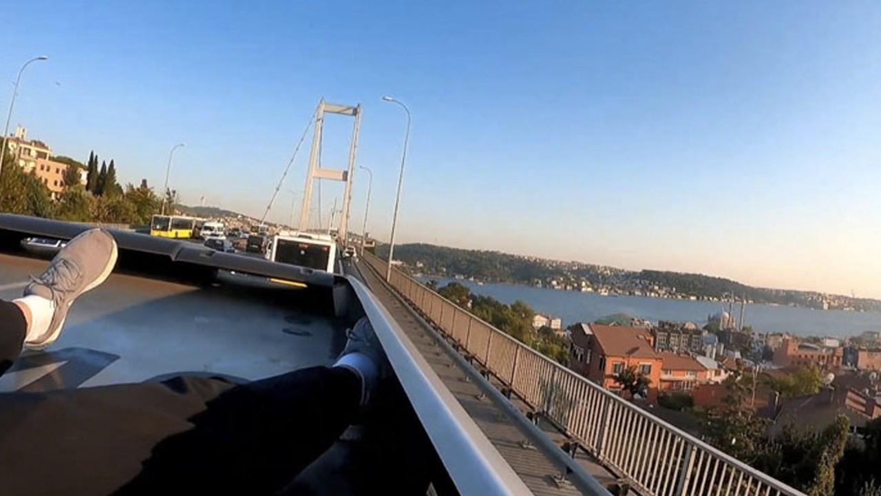 Turkish YouTuber detained for crossing Bosphorus Bridge on top of metrobus