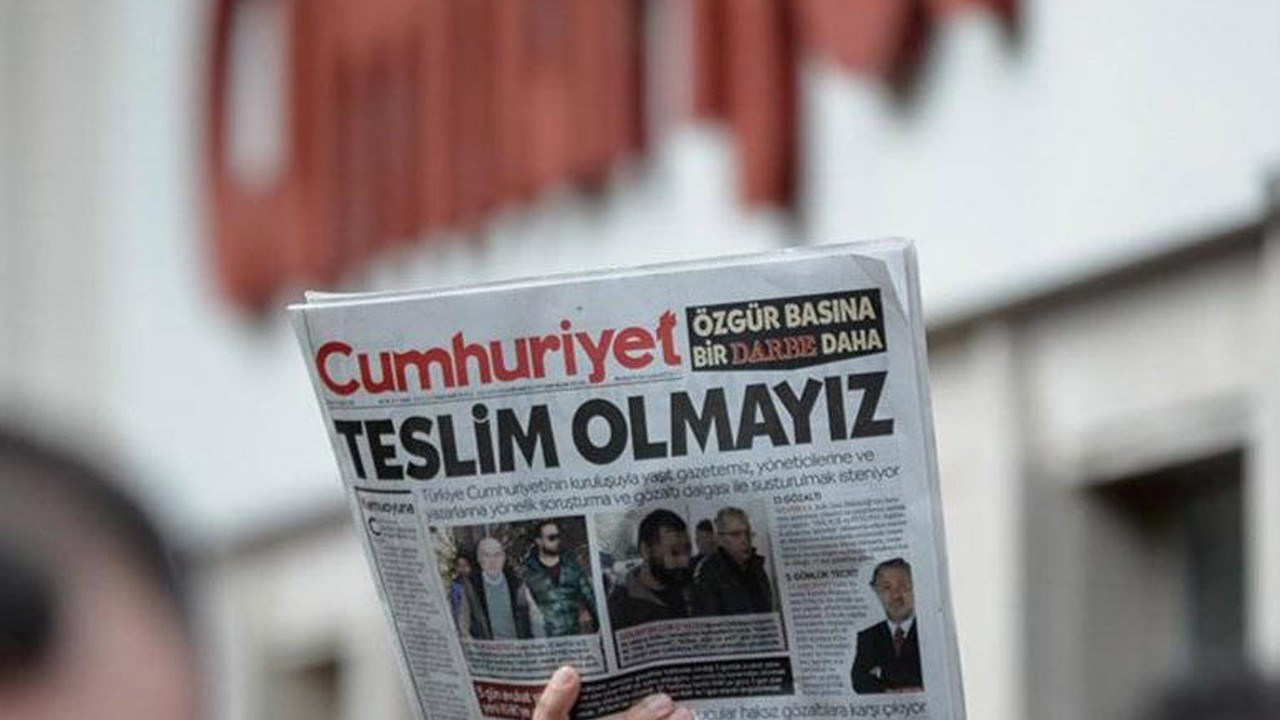 129-day advertising ban imposed on daily Cumhuriyet in two years