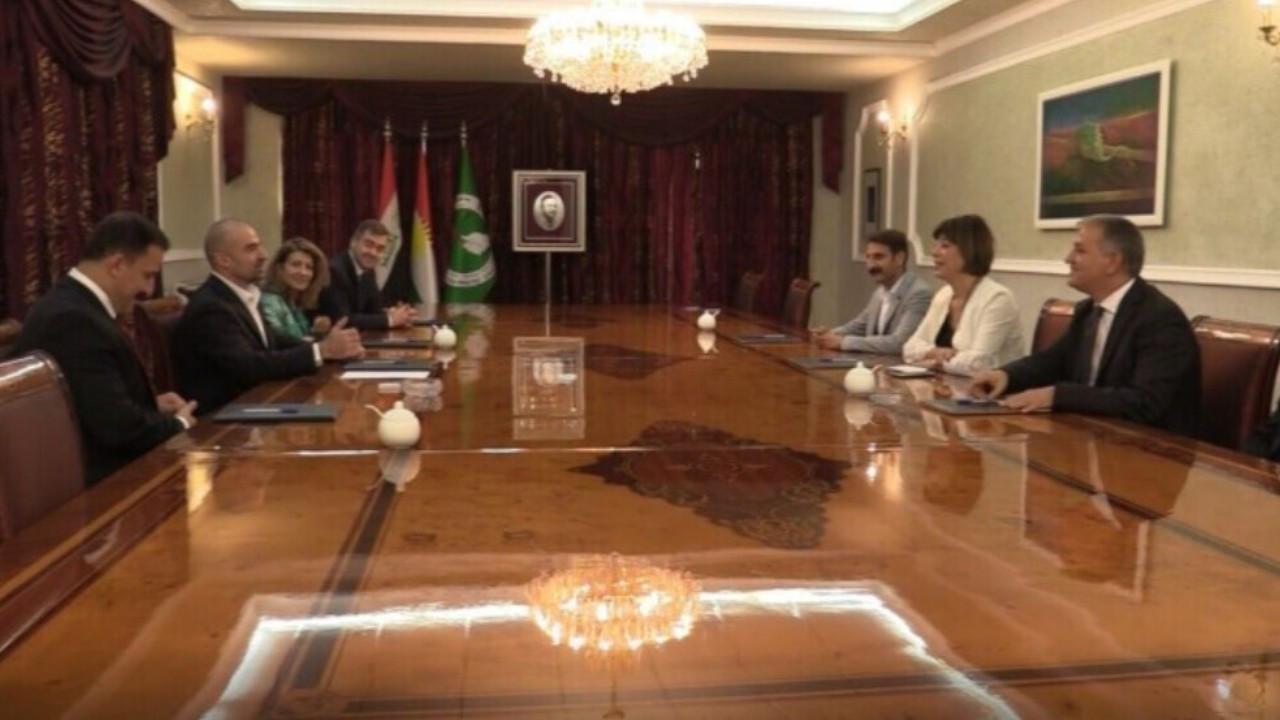 HDP delegation visits Iraqi Kurdish politicians in Sulaymaniyah