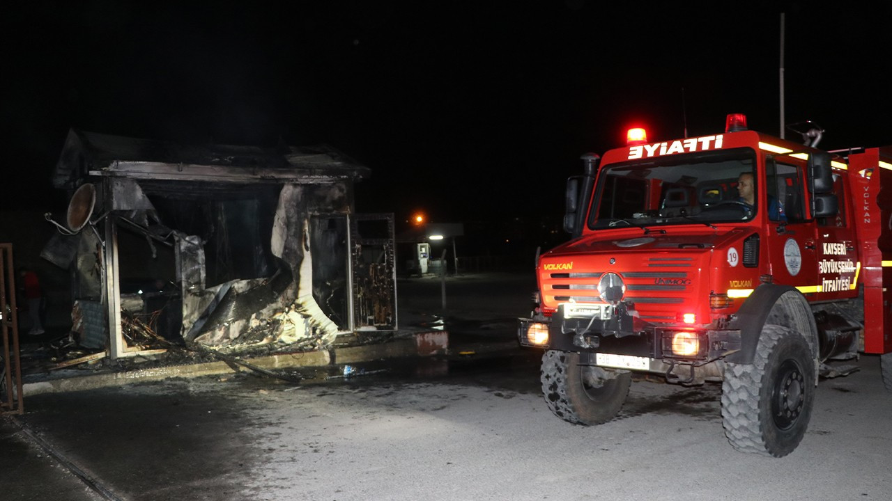 Sacked Turkish worker sets fire to construction machine, security shed