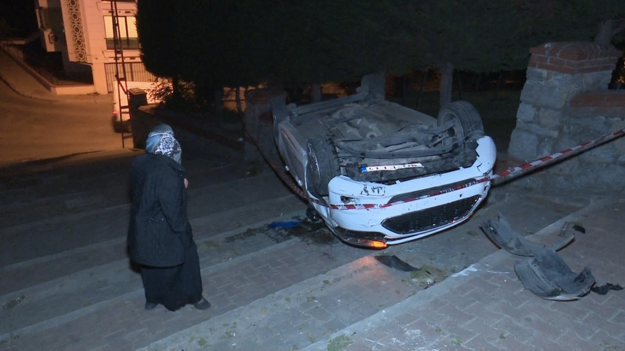 Navigation app sends Turkish driver tumbling down stairs in Istanbul