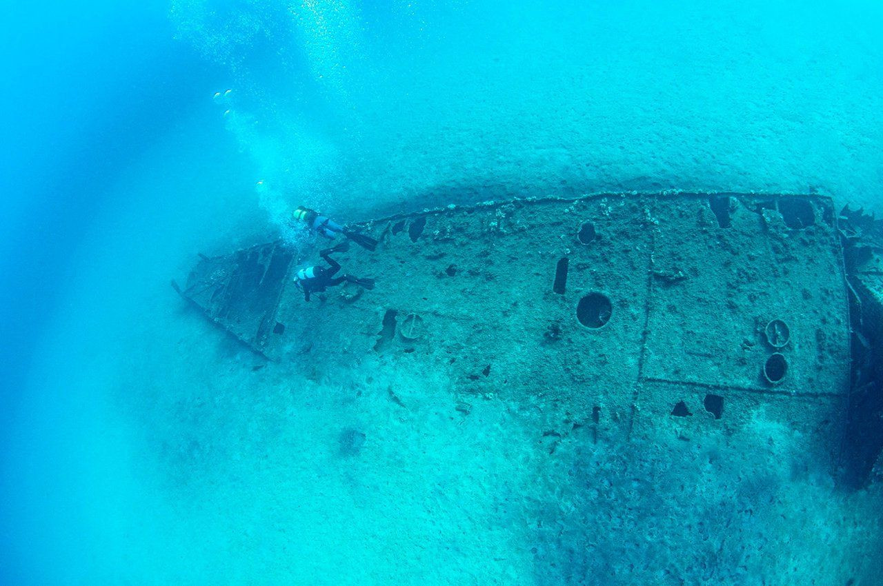Shipwrecks of World War I are a seabed museum in Turkey - Page 1