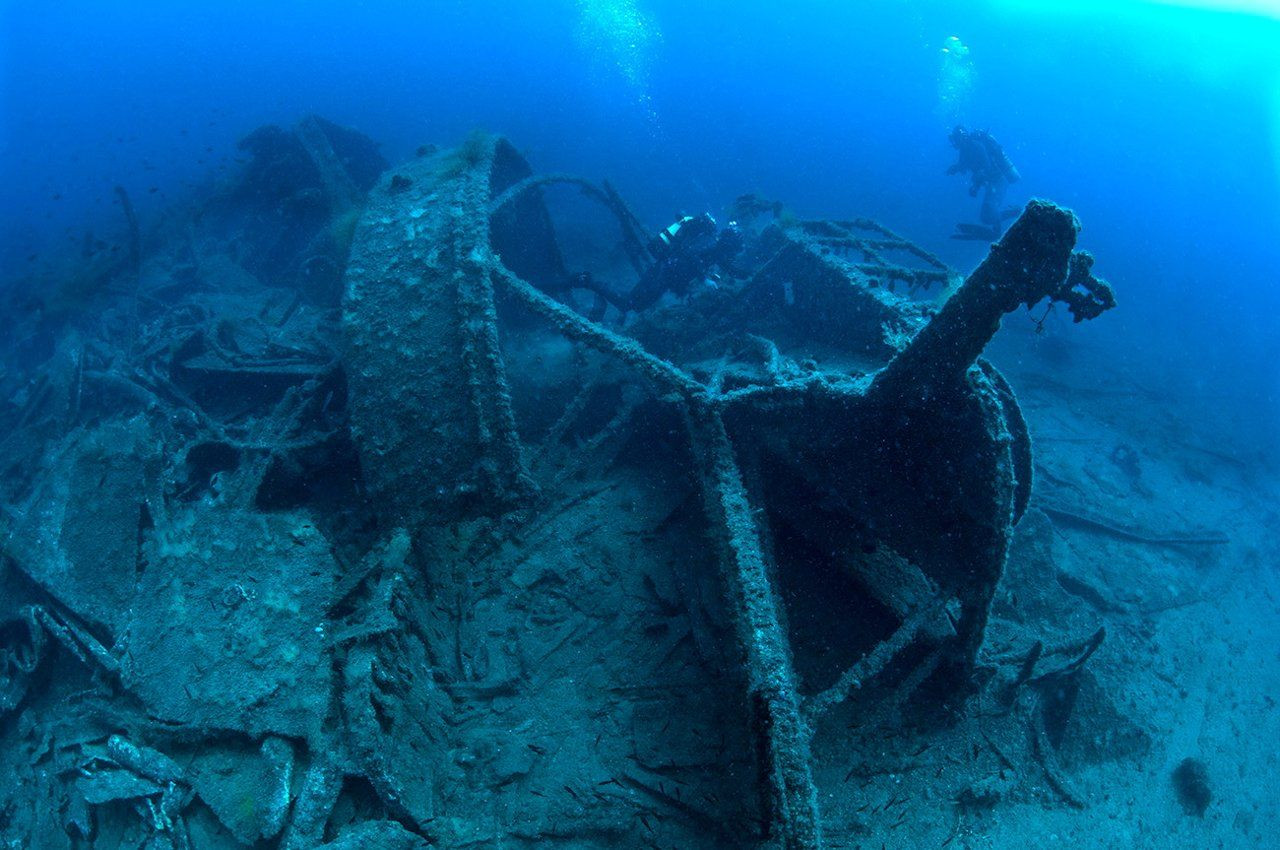 Shipwrecks of World War I are a seabed museum in Turkey - Page 2