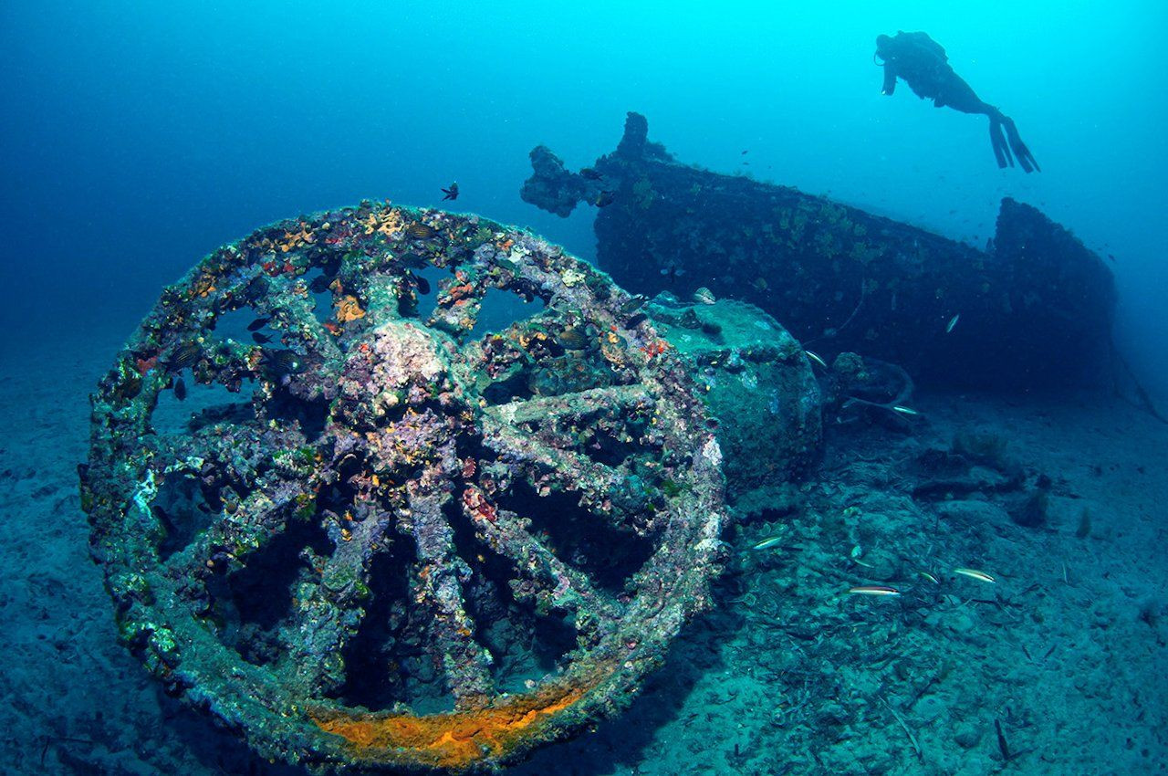 Shipwrecks of World War I are a seabed museum in Turkey - Page 4