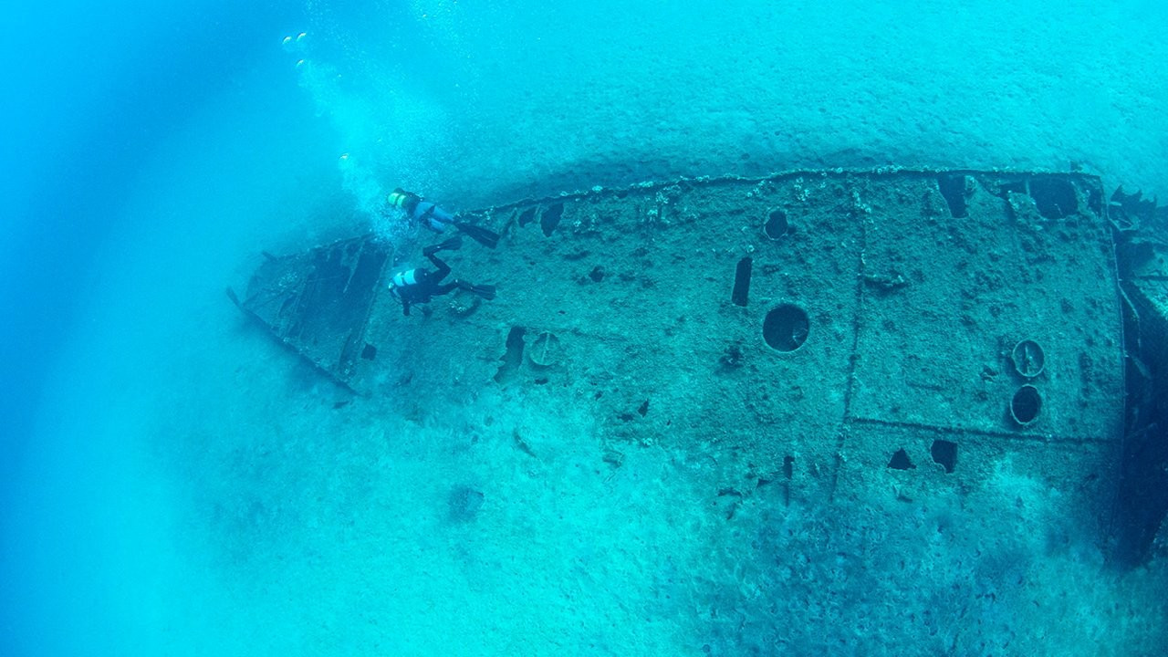 Shipwrecks of World War I are a seabed museum in Turkey