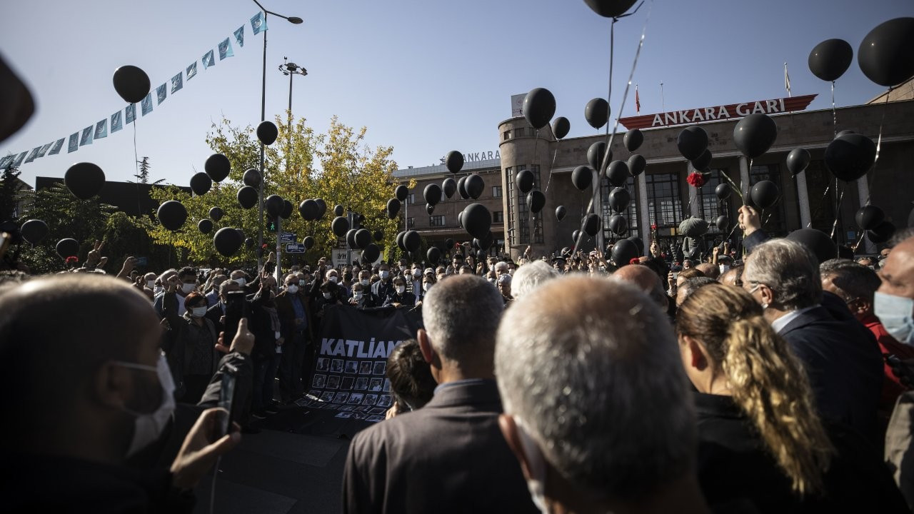 Police detain over 20 commemorating ISIS massacre victims in Ankara