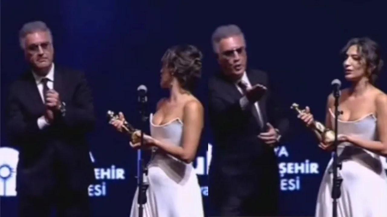 Turkish actor slammed for interrupting actress' award speech