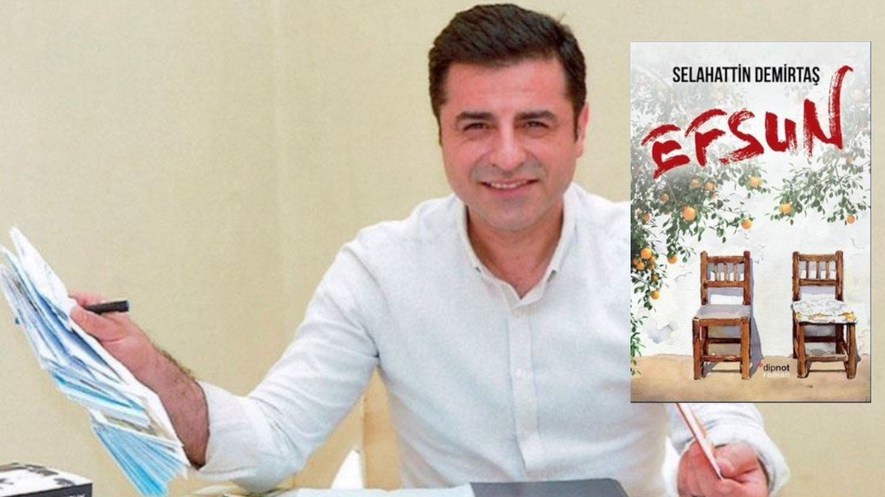 Demirtaş targeted on e-commerce site where his book is sold