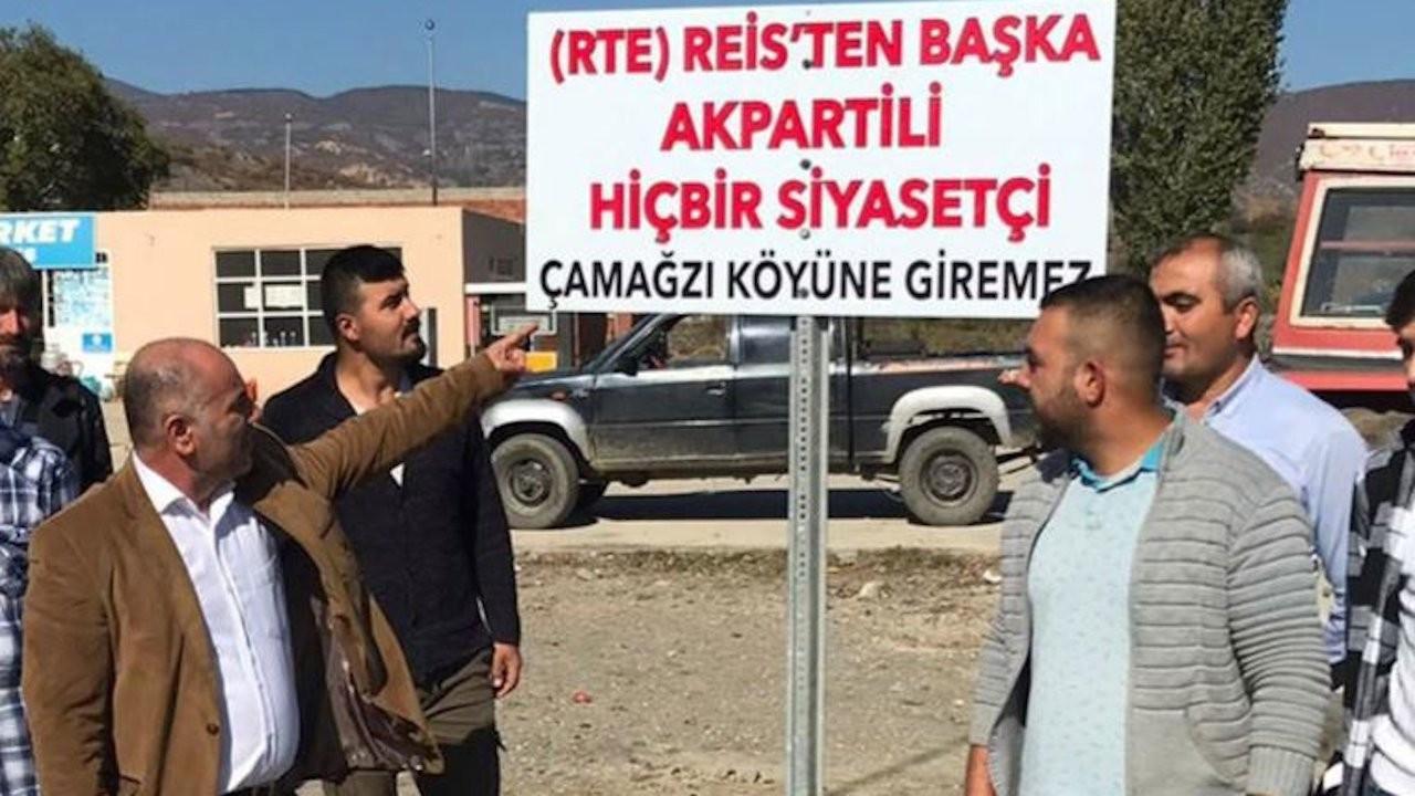 Locals in Turkey's north 'ban' AKP politicians from entering village