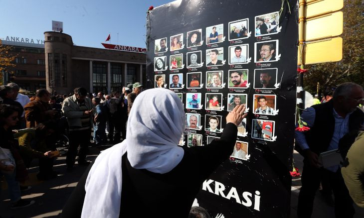 Ankara Massacre lawyers ask gov't to disclose whereabouts of detained ISIS operatives