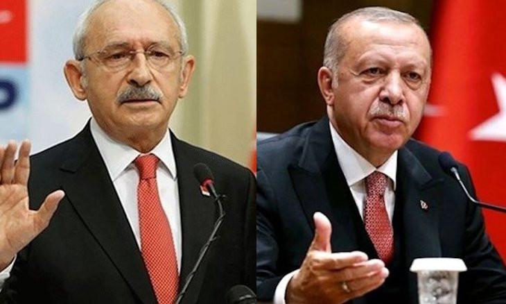 Erdoğan sues CHP leader for 1M liras over 'so-called president' remark