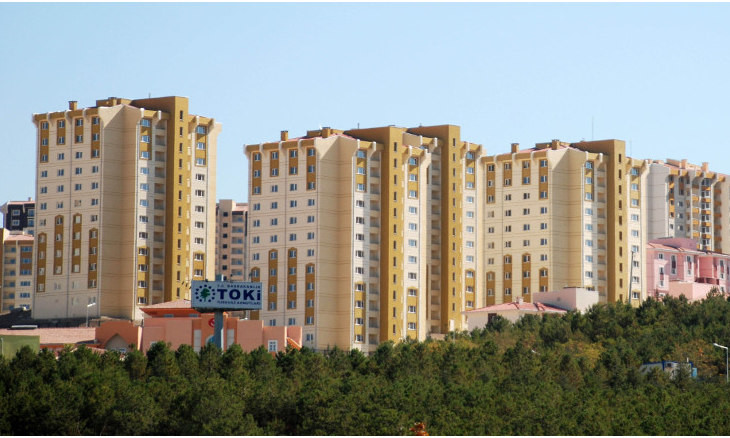 Turkey's mass housing agency builds over half a million homes in ten years