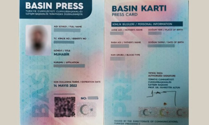 Nearly 4000 press cards cancelled in 5 years
