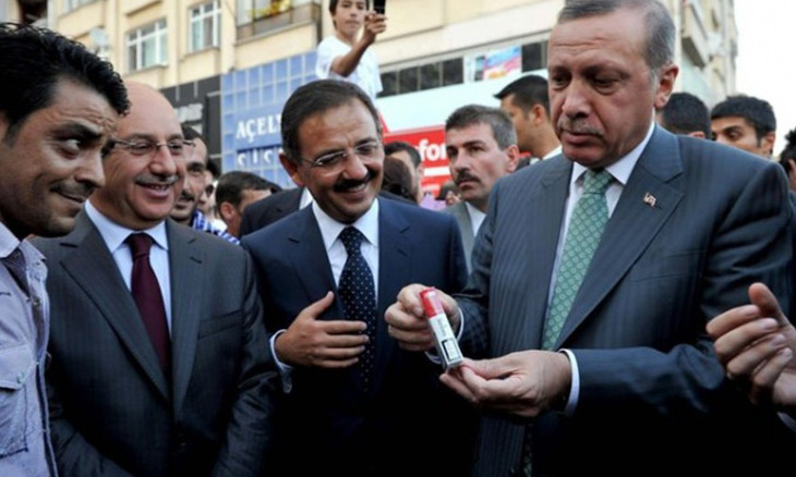 Smoking is haram, Erdoğan says