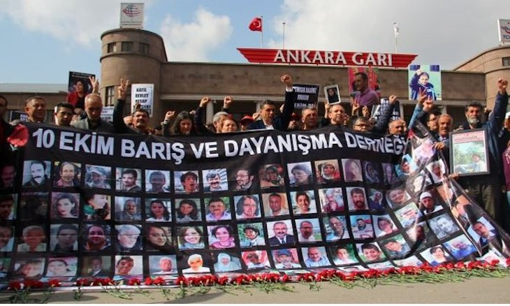 Turkish ministry demands money from bombing victims' families