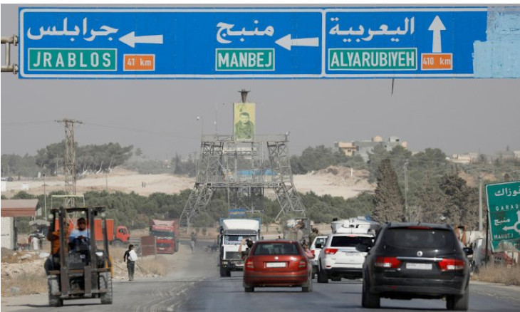 Germany proposed an internationally controlled 'security zone' in NE Syria