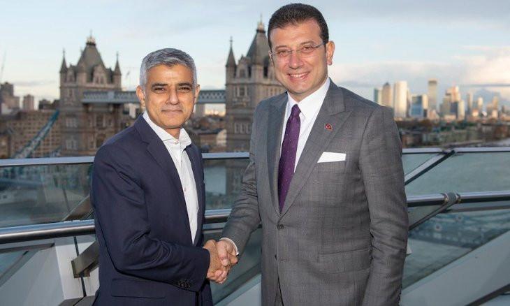 Istanbul Mayor Ekrem İmamoğlu in London for talks
