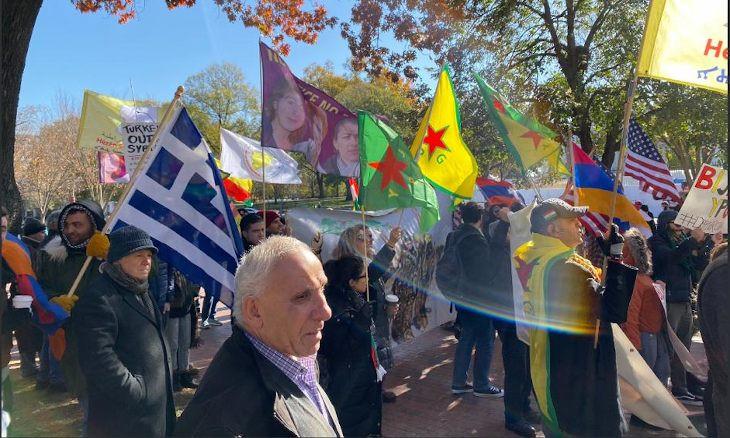 Erdoğan's visit to Washington sparks protests