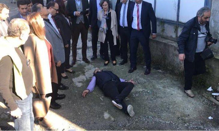 Turkish man enacts daughter's death in bid to solve suspicious case