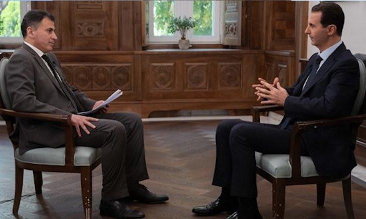 US selling Syrian oil through Turkey: Assad
