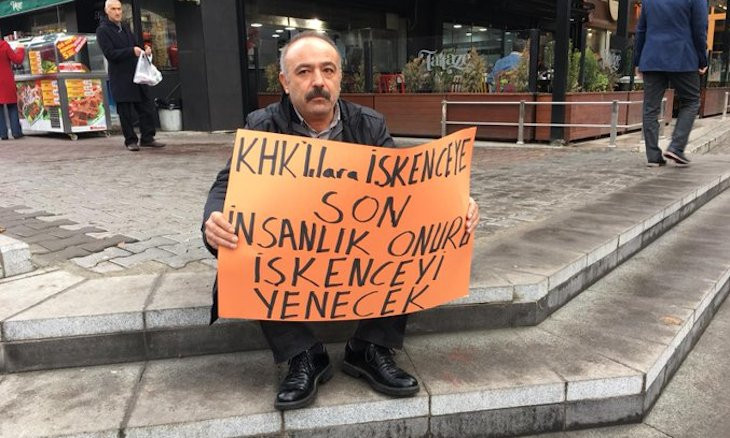 Man seeking to be reinstated to his job detained nearly 300 times in 3 years in Ankara