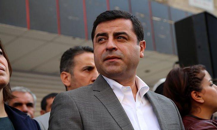 I'm in prison because Erdoğan is afraid of me: Demirtaş