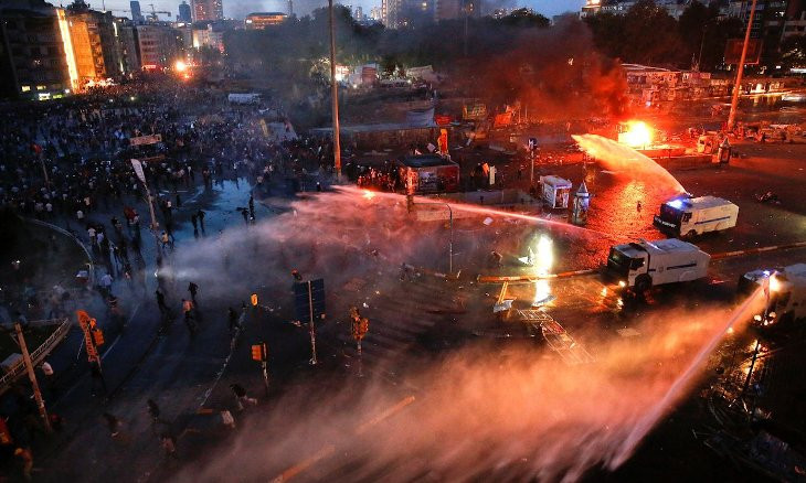 Turkey's top court finds rights violation of protester wounded by police during Gezi