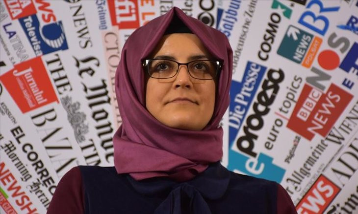 Khashoggi's fiancee slams death sentences as 'attempts of covering up the truth'