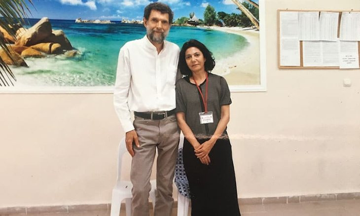 Osman Kavala's wife Ayşe Buğra says they're dealing with torture