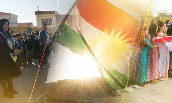 Barzani: Kurdistan flag symbolizes unity, struggle for peace