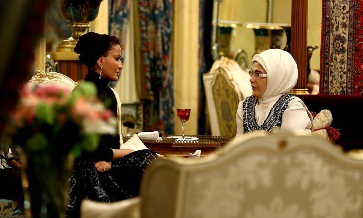 Qatar Emir's mother bought land from Kanal Istanbul area, Erdoğan confirms