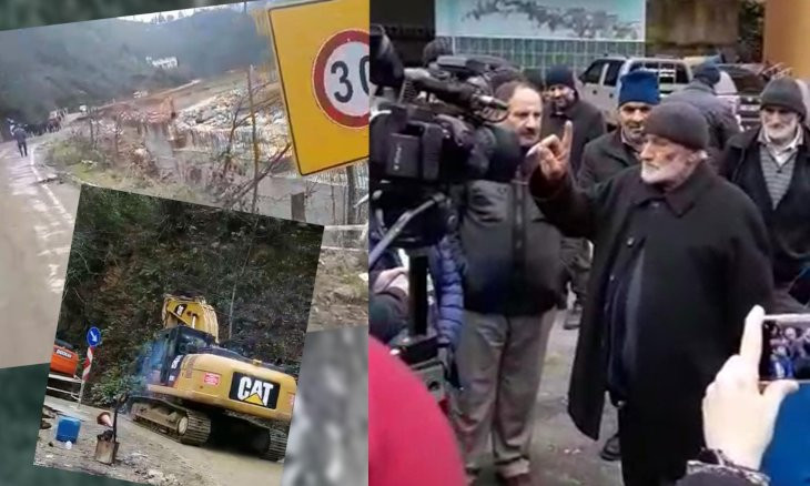 Villagers from Erdoğan's hometown protest hydroelectric power plant