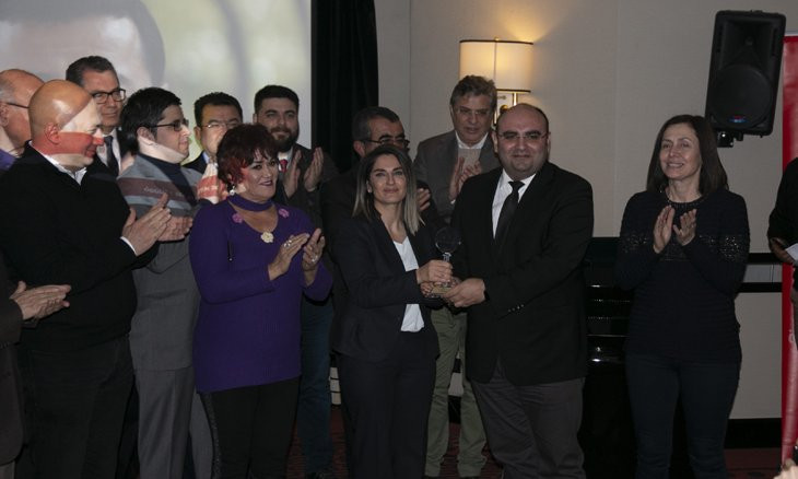 Demirtaş receives prestigious 'Peace' award